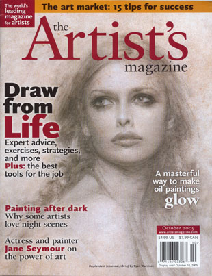 From Dusk Till Dawn, Artist's Magazine, October 2005.  Click for the story.