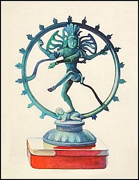 Sheva (Shiva) is an Indian (Hindu) goddess