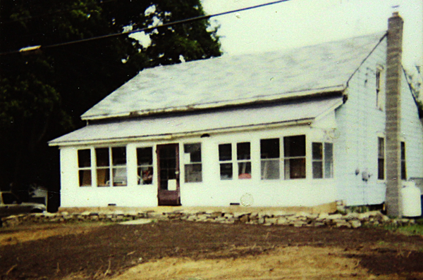 John's house in Mexico, NY before he worked on it