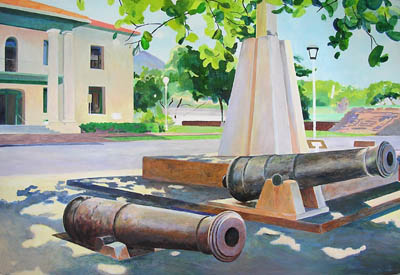 Cannons in Lahaina Maui, day 9