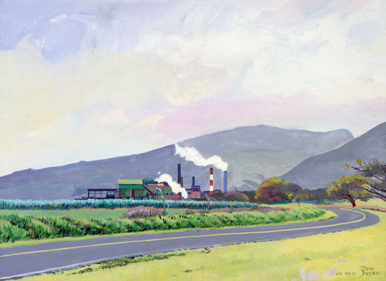 Puanani Mill Painting and Giclee