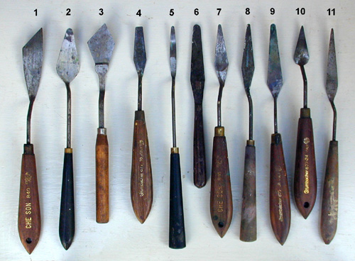 Different knife blades