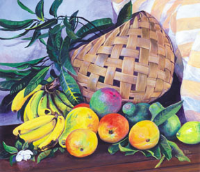 Giclee Fruit Basket
