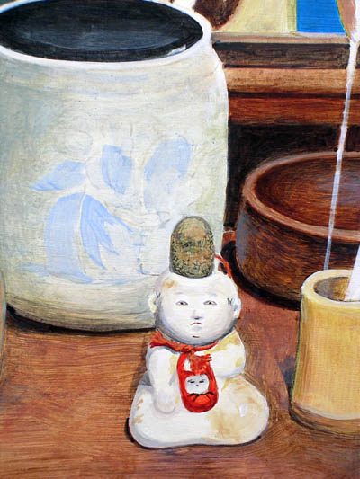 Ancient Tea Ceremony doll